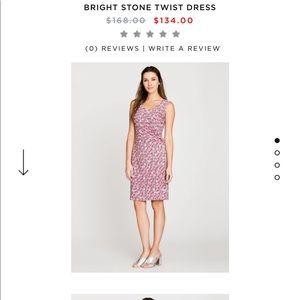 Nic & Zoe New Bright Stone Twist Dress XL